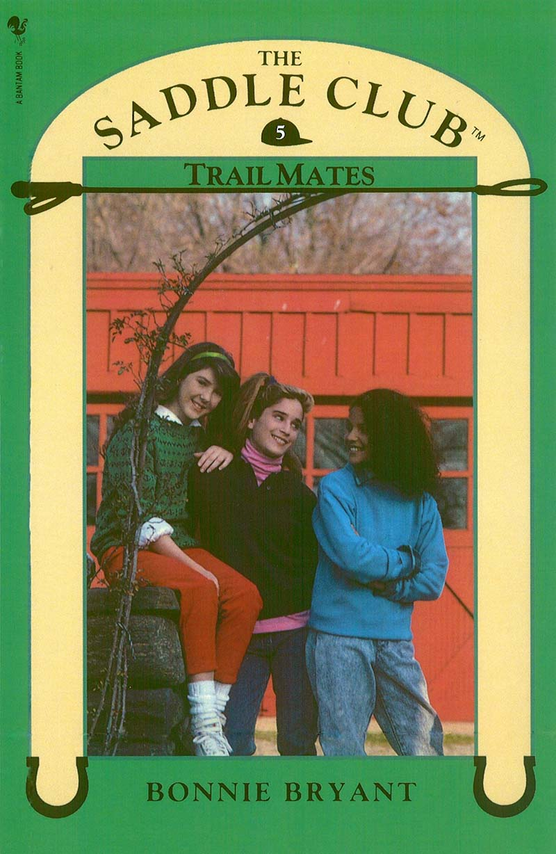 Saddle Club Book 5: Trail Mates - Jacket