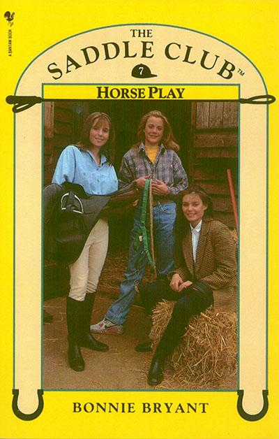 Saddle Club Book 7: Horse Play - Jacket