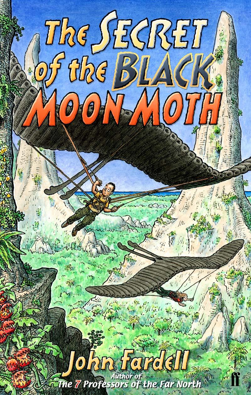 The Secret of the Black Moon Moth - Jacket