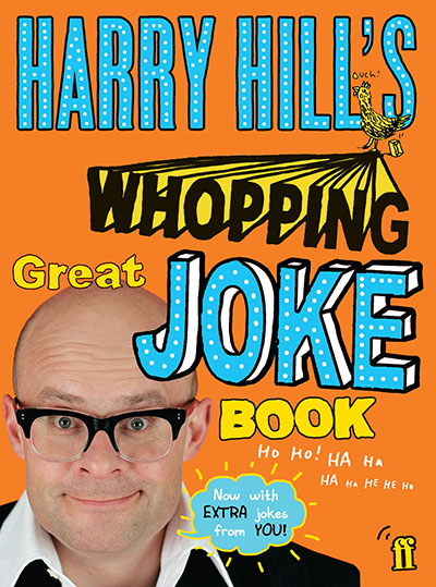 Harry Hill's Whopping Great Joke Book - Jacket