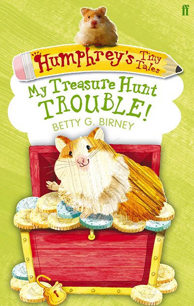 Humphrey's Tiny Tales 5: My Treasure Hunt Trouble! - Jacket