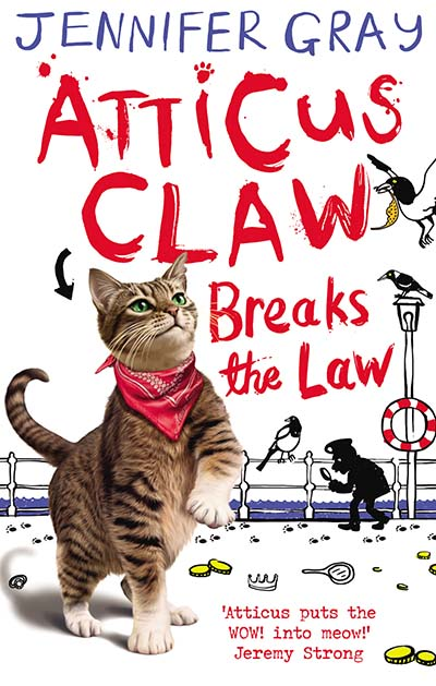 Atticus Claw Breaks the Law - Jacket