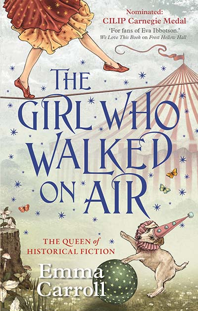 The Girl Who Walked On Air - Jacket