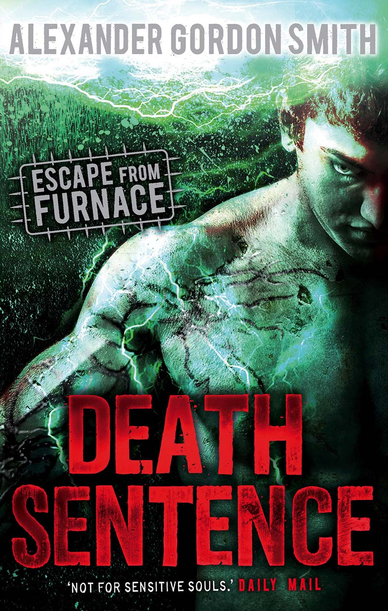 Escape from Furnace 3: Death Sentence - Jacket