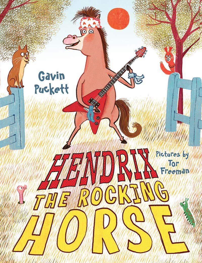 Hendrix the Rocking Horse - Jacket