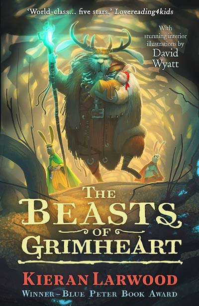 The Beasts of Grimheart - Jacket