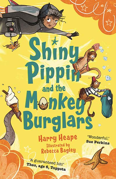 Shiny Pippin and the Monkey Burglars - Jacket
