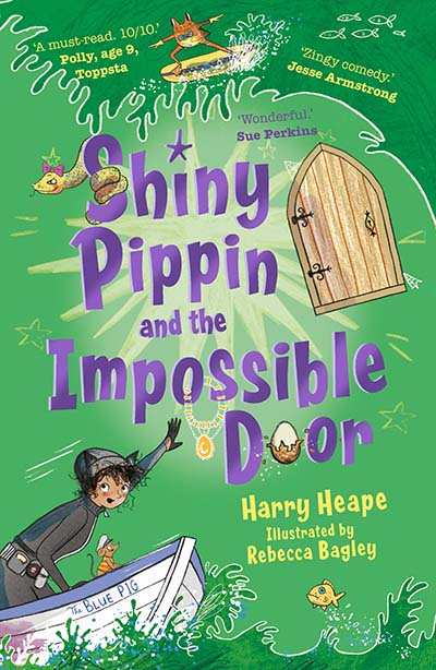 Shiny Pippin and the Impossible Door - Jacket