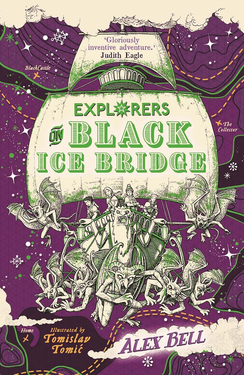 Explorers on Black Ice Bridge - Jacket