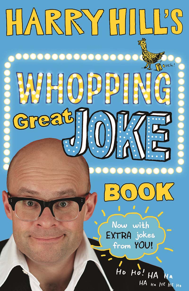 Harry Hill's Whopping Great Joke Book - Jacket