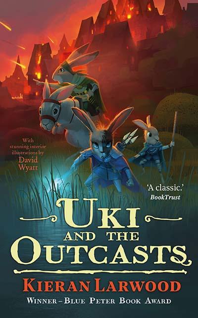 Uki and the Outcasts - Jacket