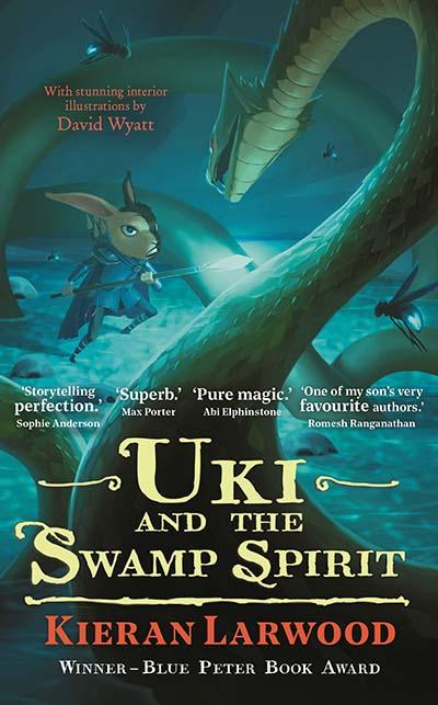 Uki and the Swamp Spirit - Jacket
