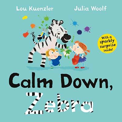 Calm Down, Zebra - Jacket