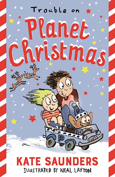 Trouble on Planet Christmas - Jacket