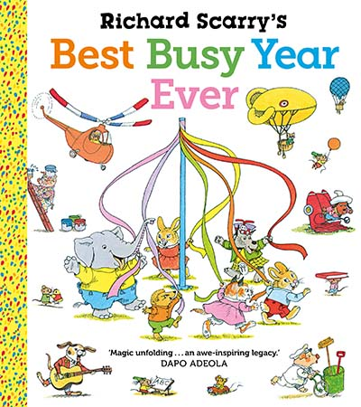 Richard Scarry's Best Busy Year Ever - Jacket