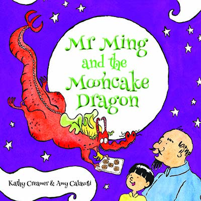 Mr. Ming and the Mooncake Dragon - Jacket
