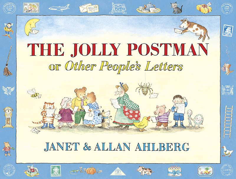 The Jolly Postman or Other People's Letters - Jacket
