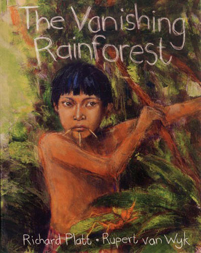 The  Vanishing Rainforest - Jacket