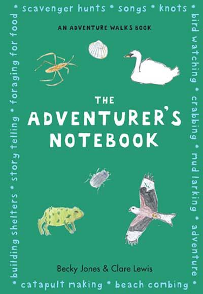 The  Adventurer's Notebook - Jacket