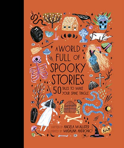 A World Full of Spooky Stories - Jacket