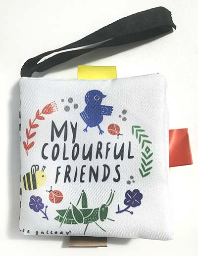Wee Gallery Buggy Books: My Colourful Friends - Jacket