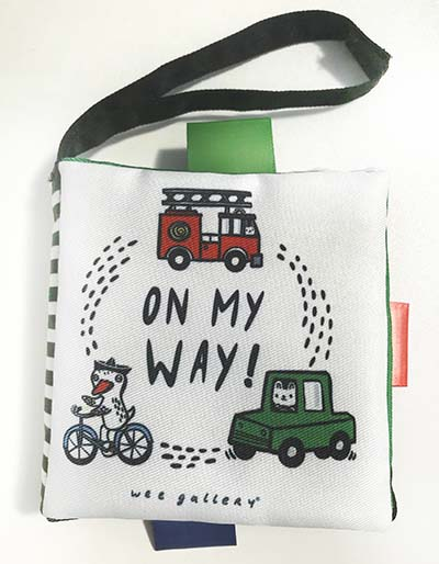 Wee Gallery Buggy Books: On My Way - Jacket
