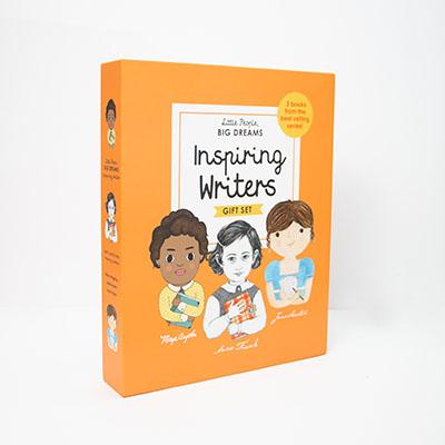 Little People, BIG DREAMS: Inspiring Writers - Jacket
