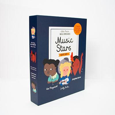 Little People, BIG DREAMS: Music Stars - Jacket