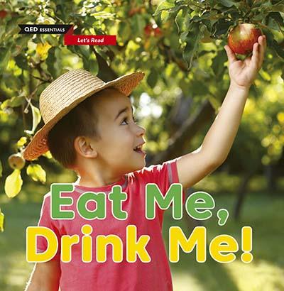 Let's Read: Eat Me, Drink Me! - Jacket