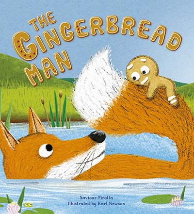 Storytime Classics: The Gingerbread Man - Jacket