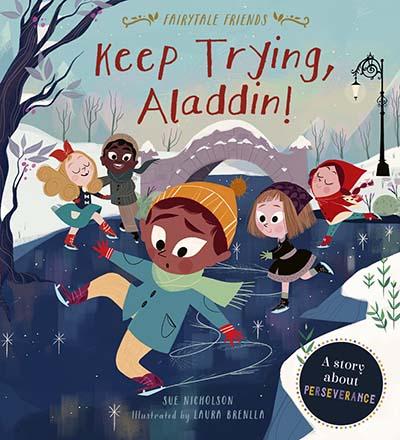 Keep Trying, Aladdin! - Jacket
