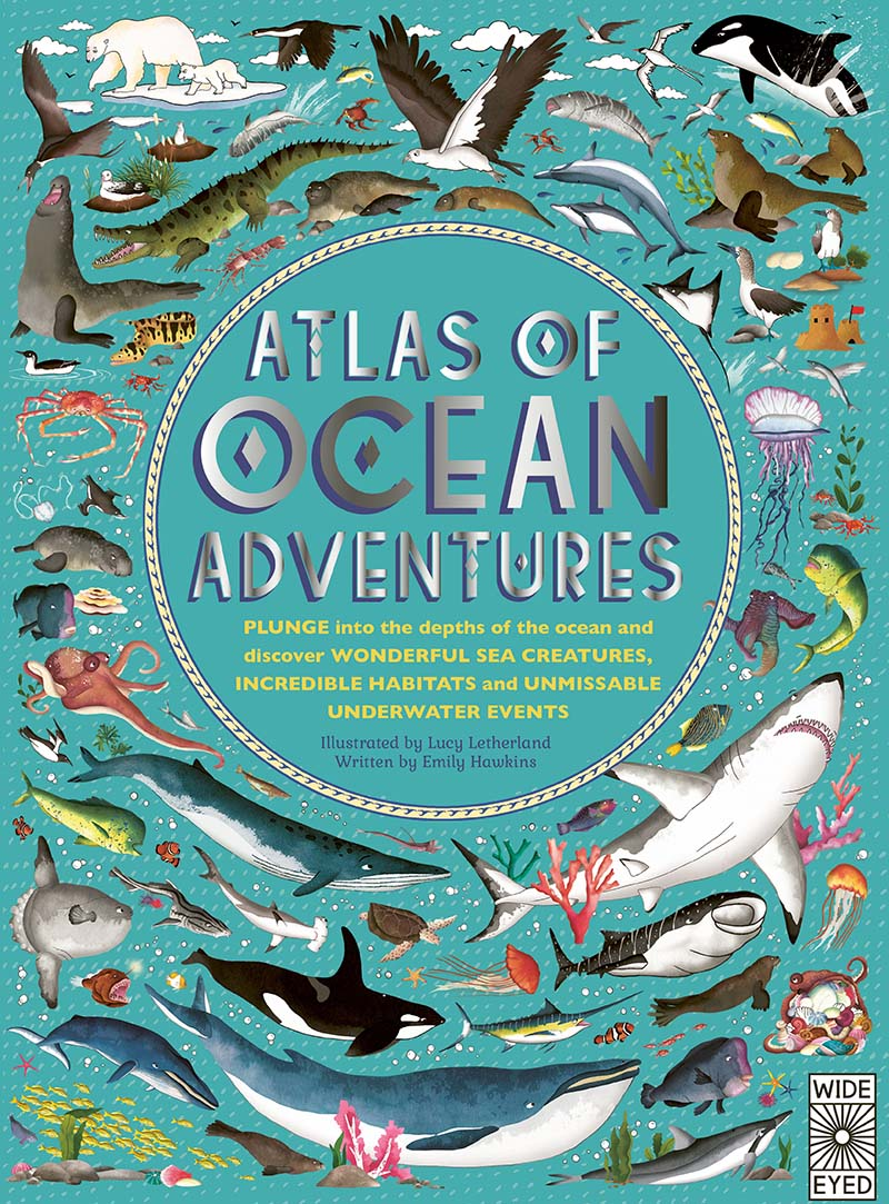 Atlas of Ocean Adventures - Jacket