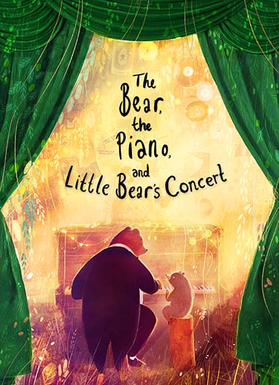 The Bear, the Piano and Little Bear's Concert - Jacket