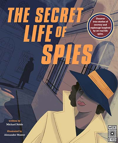 The Secret Life of Spies - Jacket