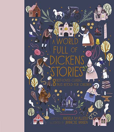 A World Full of Dickens Stories - Jacket