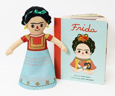 Frida Kahlo Doll and Book Set - Jacket