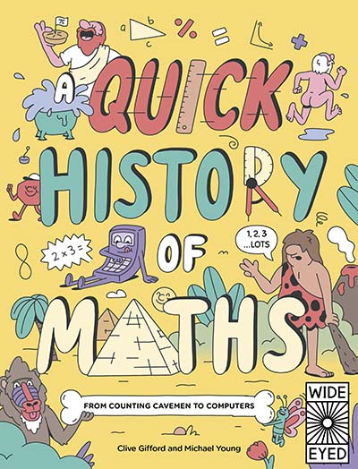 A Quick History of Maths - Jacket