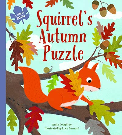 Squirrel's Autumn Puzzle - Jacket