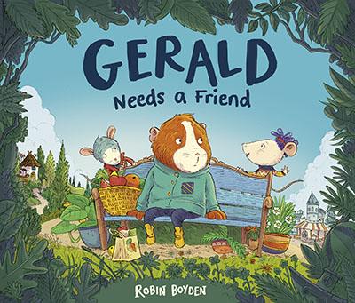 Gerald Needs a Friend - Jacket