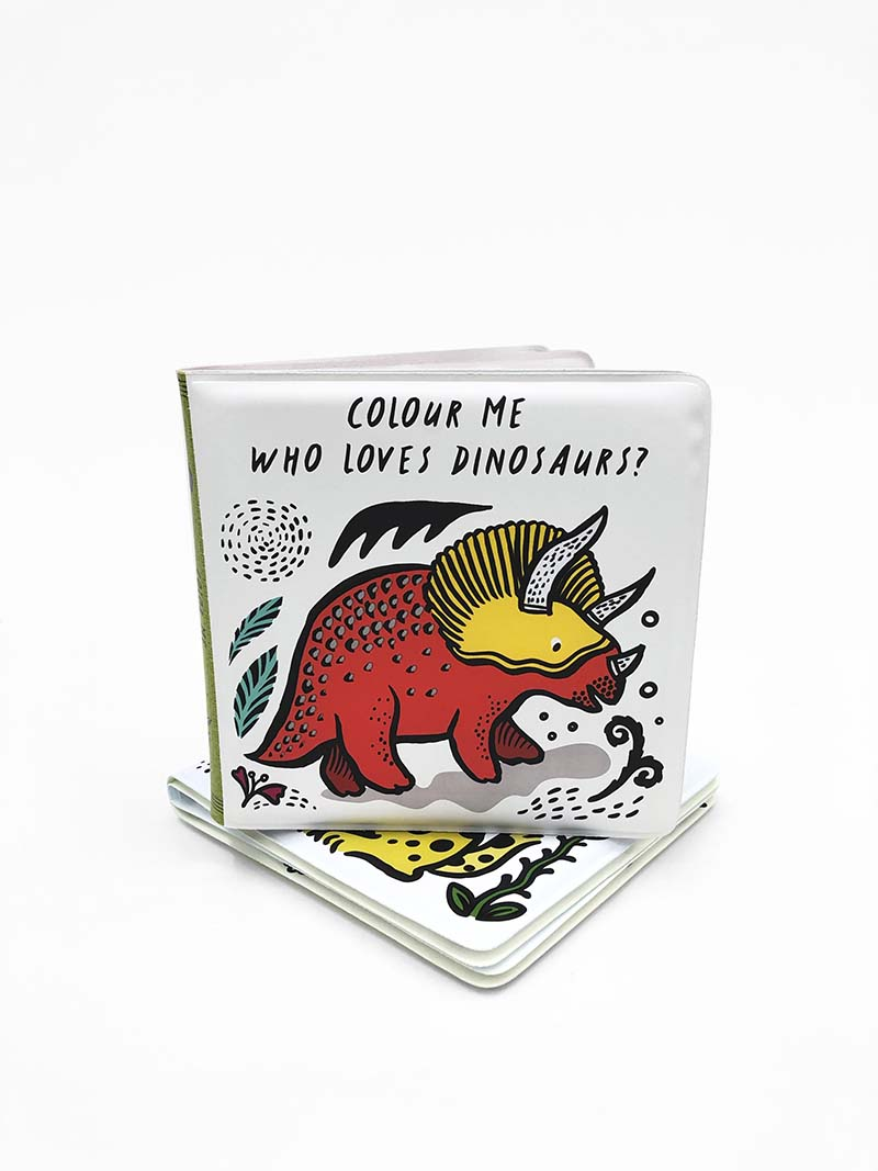 Colour Me: Who Loves Dinosaurs? - Jacket