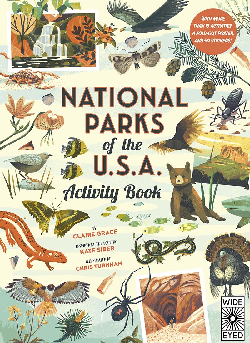 National Parks of the USA: Activity Book - Jacket