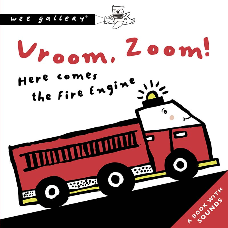 Vroom, Zoom! Here Comes The Fire Engine - Jacket