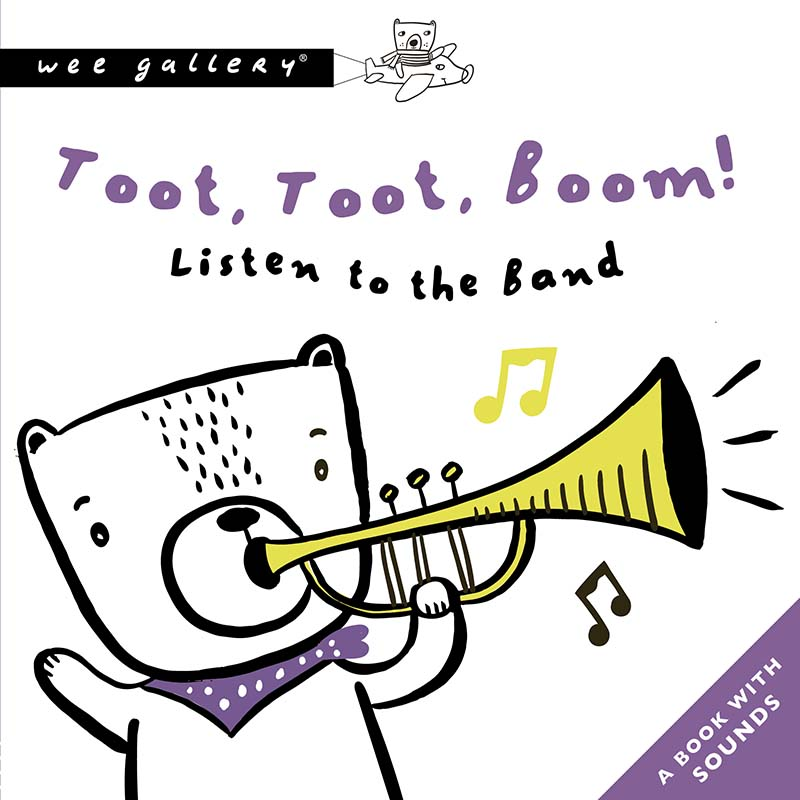 Toot, Toot, Boom! Listen To The Band - Jacket