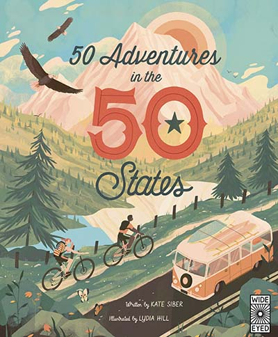 50 Adventures in the 50 States - Jacket