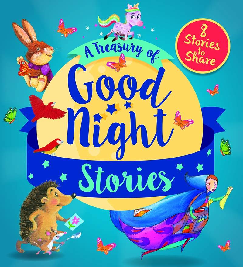 A Treasury of Good Night Stories - Jacket