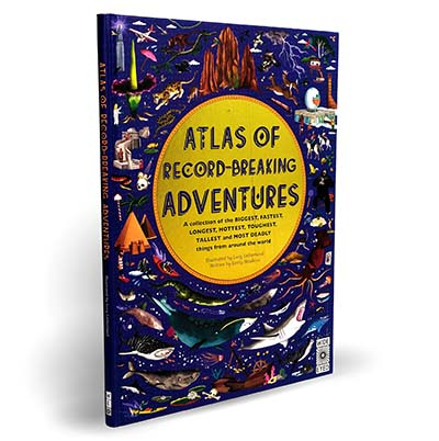 Atlas of Record-Breaking Adventures - Jacket