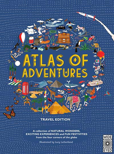Atlas of Adventures: Travel Edition - Jacket