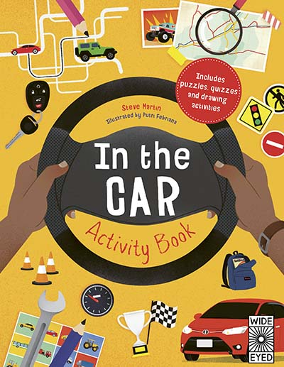 In the Car Activity Book - Jacket