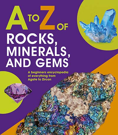 A to Z of Rocks, Minerals and Gems - Jacket