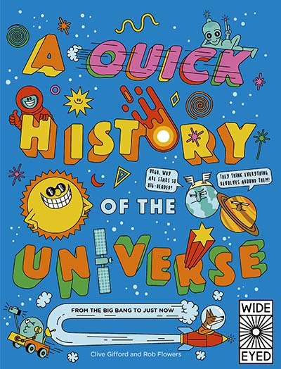 A Quick History of the Universe - Jacket